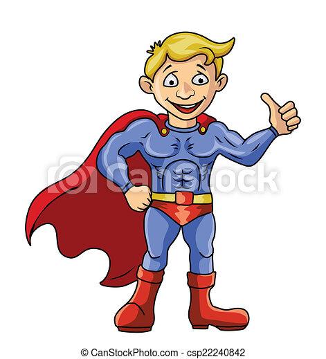 Super Hero - csp22240842