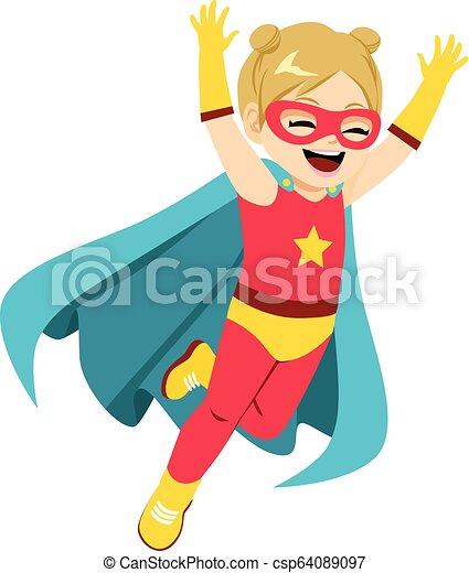 Super Hero Girl - csp64089097