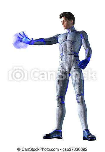 Super Hero Magic - csp37030892