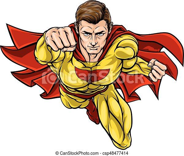 Super Hero - csp48477414