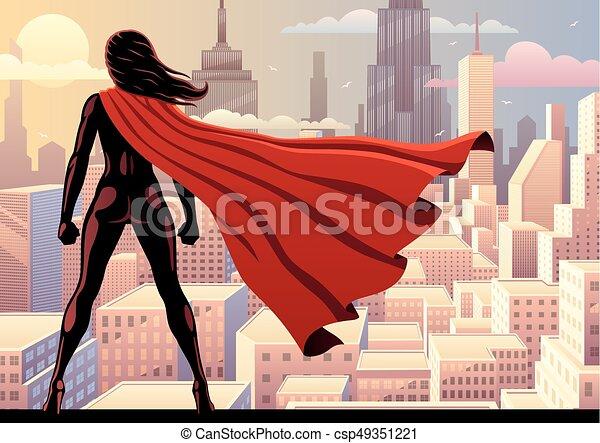 Super Heroine Watch 2 - csp49351221