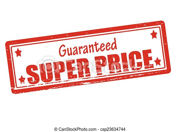 super price. rubber stamp with text super price inside, vector ...
