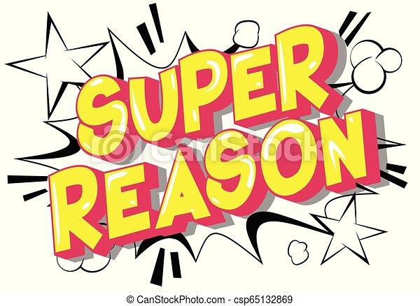 Super Reason - csp65132869