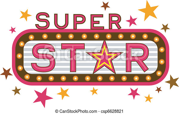 illustration featuring the words super star rh canstockphoto com super star clip art free super star award clip art