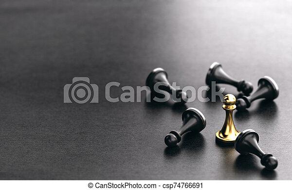 superar, concept., negócio, competidores, estratégico - csp74766691