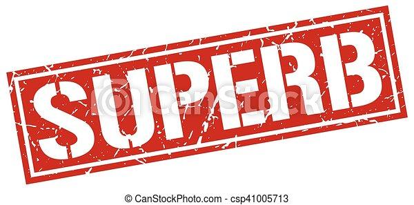 superb square grunge stamp - csp41005713