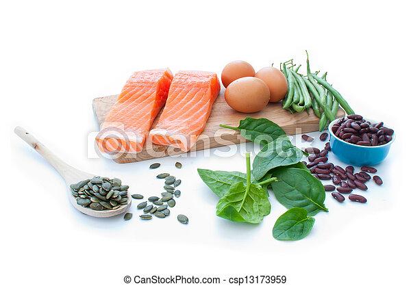 superfood, proteïne, dieet - csp13173959