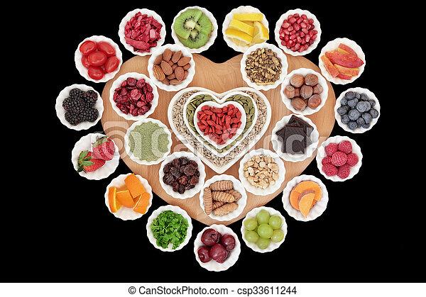 Selección de súper comida - csp33611244