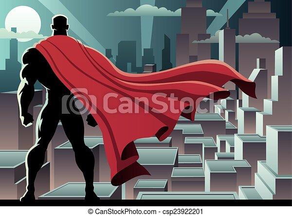 superhero, 3, orologio - csp23922201