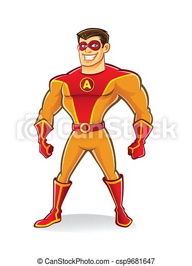 superhero, bello - csp9681647