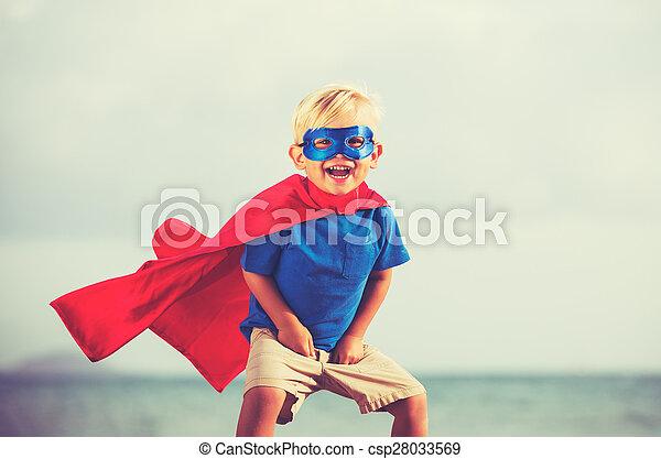 superhero, capretto - csp28033569