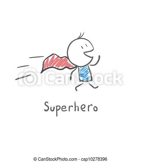 Superhéroe - csp10278396