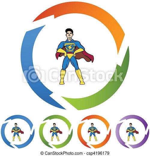 superhero - csp4196179
