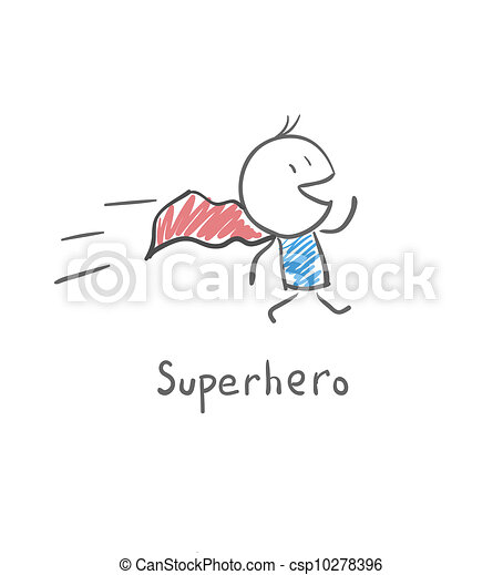 Superhero - csp10278396