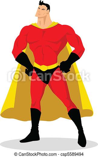 Superhéroe - csp5589494