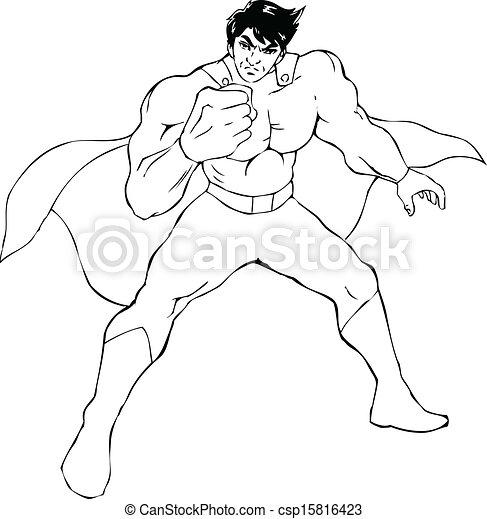 superhero - csp15816423
