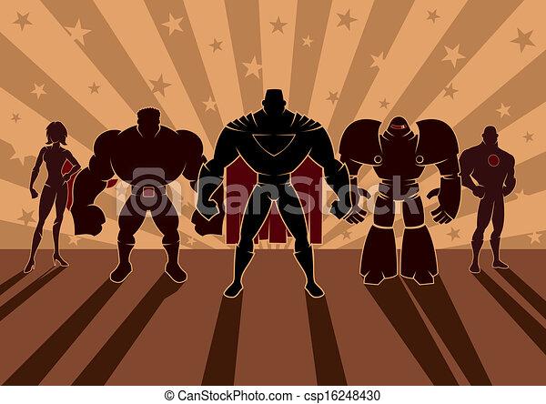 superhero, squadra - csp16248430