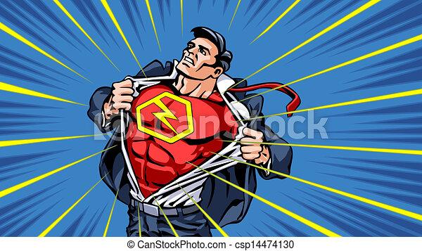 superhero-transformation - csp14474130