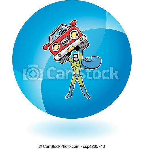 superhero - csp4205748