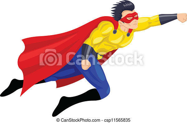 superhero - csp11565835