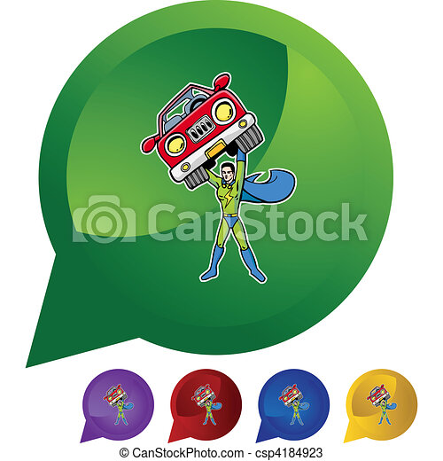 superhero - csp4184923