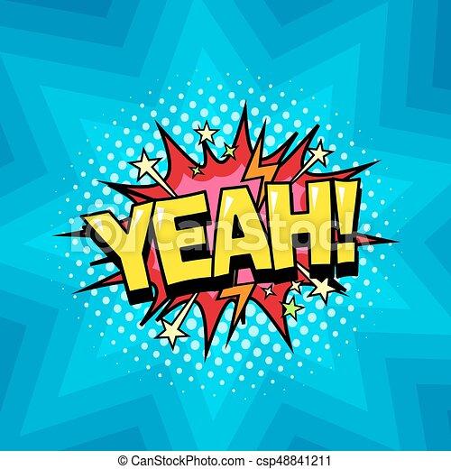 Parabéns Schafe !!! Superhero-yeah-livro-fala-fundo-clip-arte-vetor_csp48841211