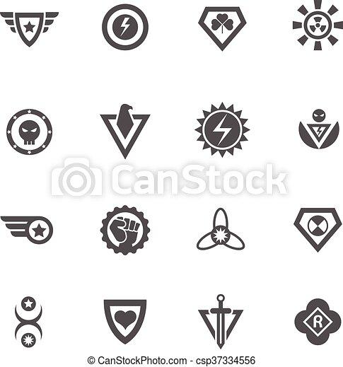 superheroes black vector badges superheroes vector badges protect