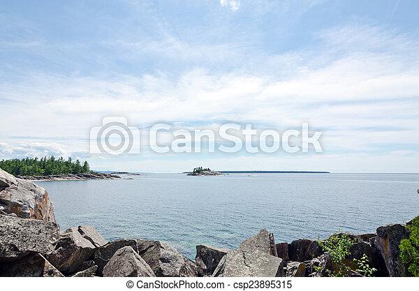 Superior Lake - csp23895315