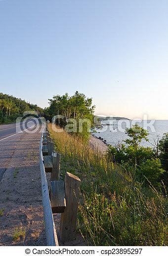 Superior Lake - csp23895297