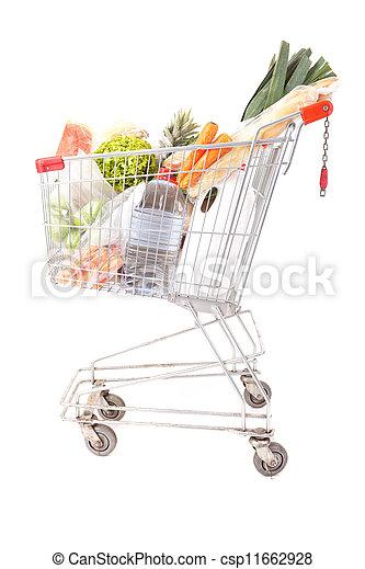 Supermarket car - csp11662928