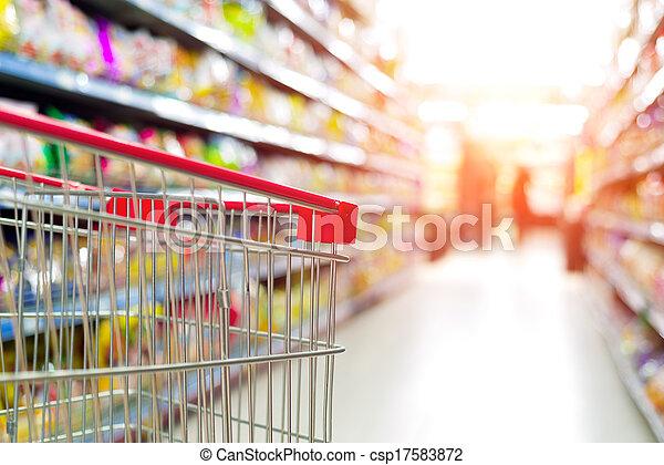 supermarket cart - csp17583872