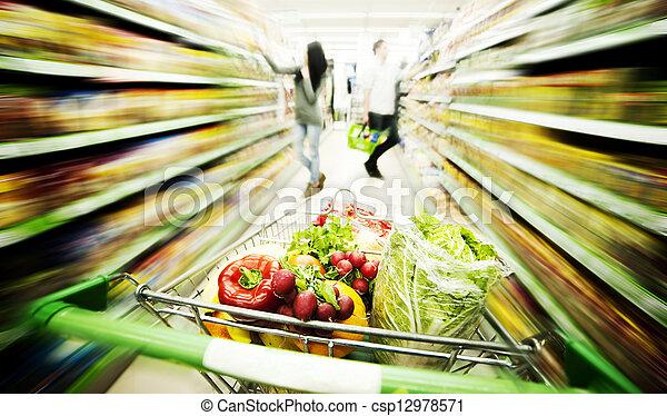 Supermarket - csp12978571