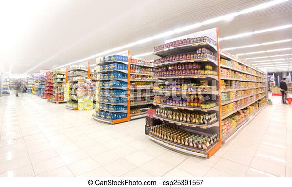 Supermarket - csp25391557