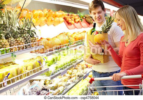 Supermarket - csp4758044