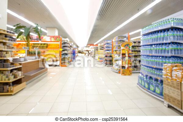 supermarkt - csp25391564