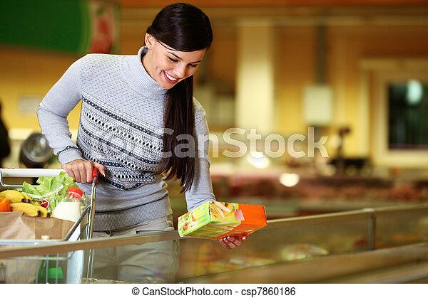 supermarkt - csp7860186