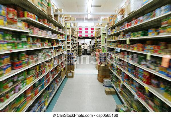 supermarkt - csp0565160