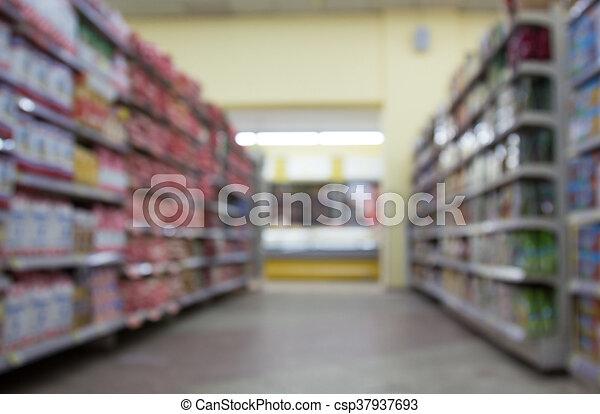 supermarkt - csp37937693