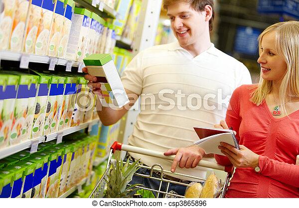 supermercato - csp3865896