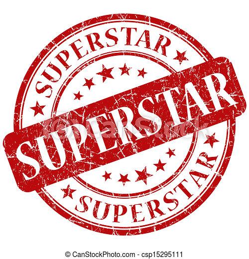 superstar stamp rh canstockphoto com Outstanding Clip Art super star clip art