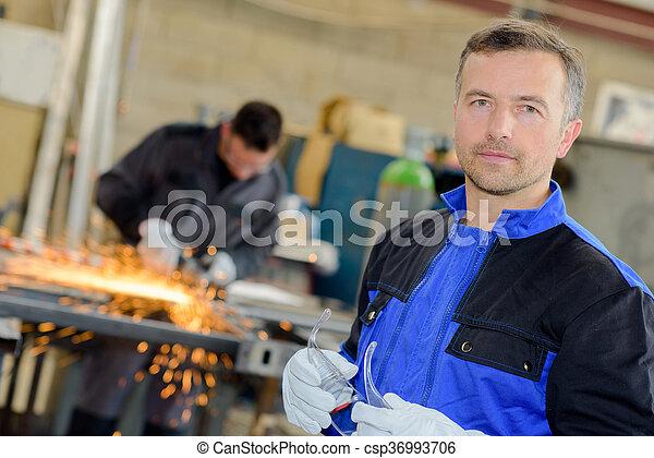 supervisor at work - csp36993706