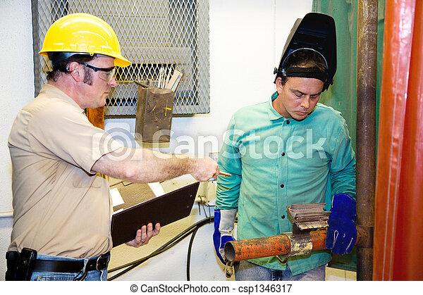 Supervisor on Factory Floor - csp1346317