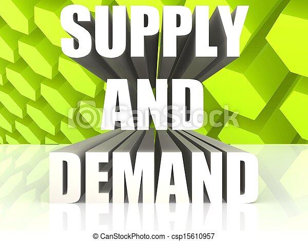 Supply And Demand - csp15610957