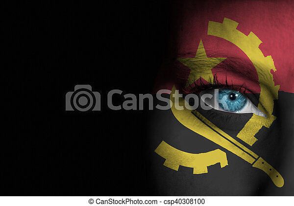 Supporter of Angola - csp40308100