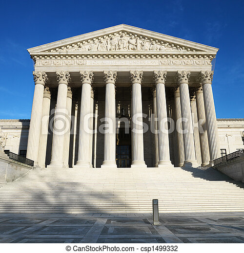 Supreme Court Building. - csp1499332