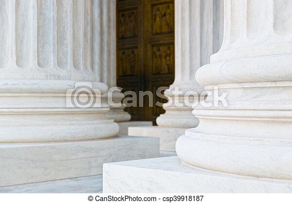 Supreme Court Building Washington DC - csp39918187