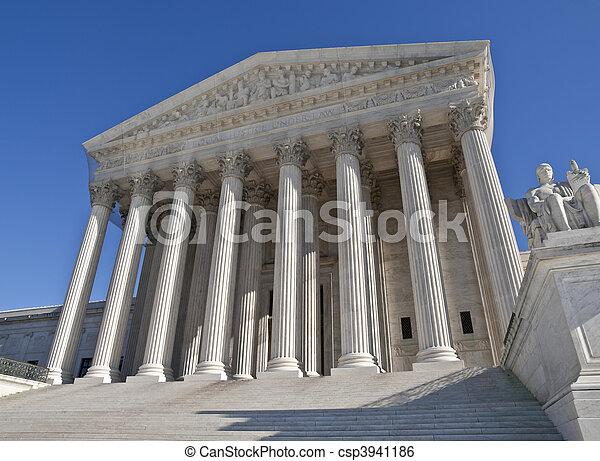 Supreme Court Building Washington DC - csp3941186