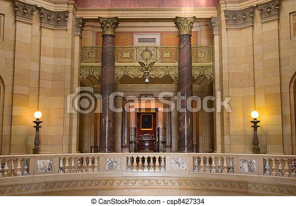 Supreme Court Entrance - csp8427334