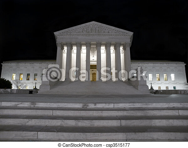 Supreme Court Night - csp3515177