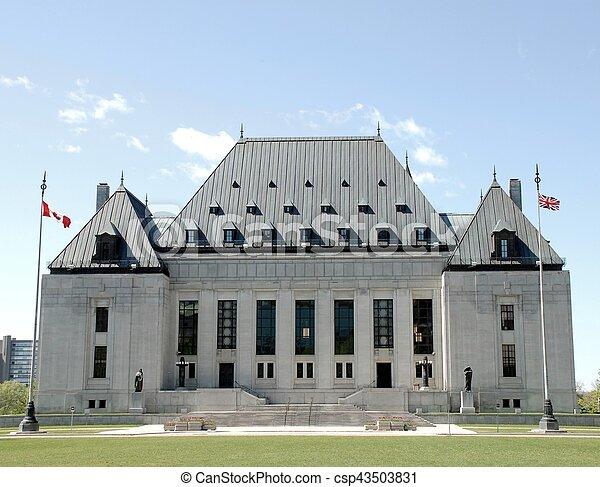 Supreme Court of Canada building - csp43503831